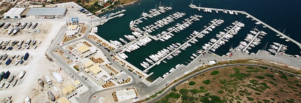 Lavrion, Olympic Marina